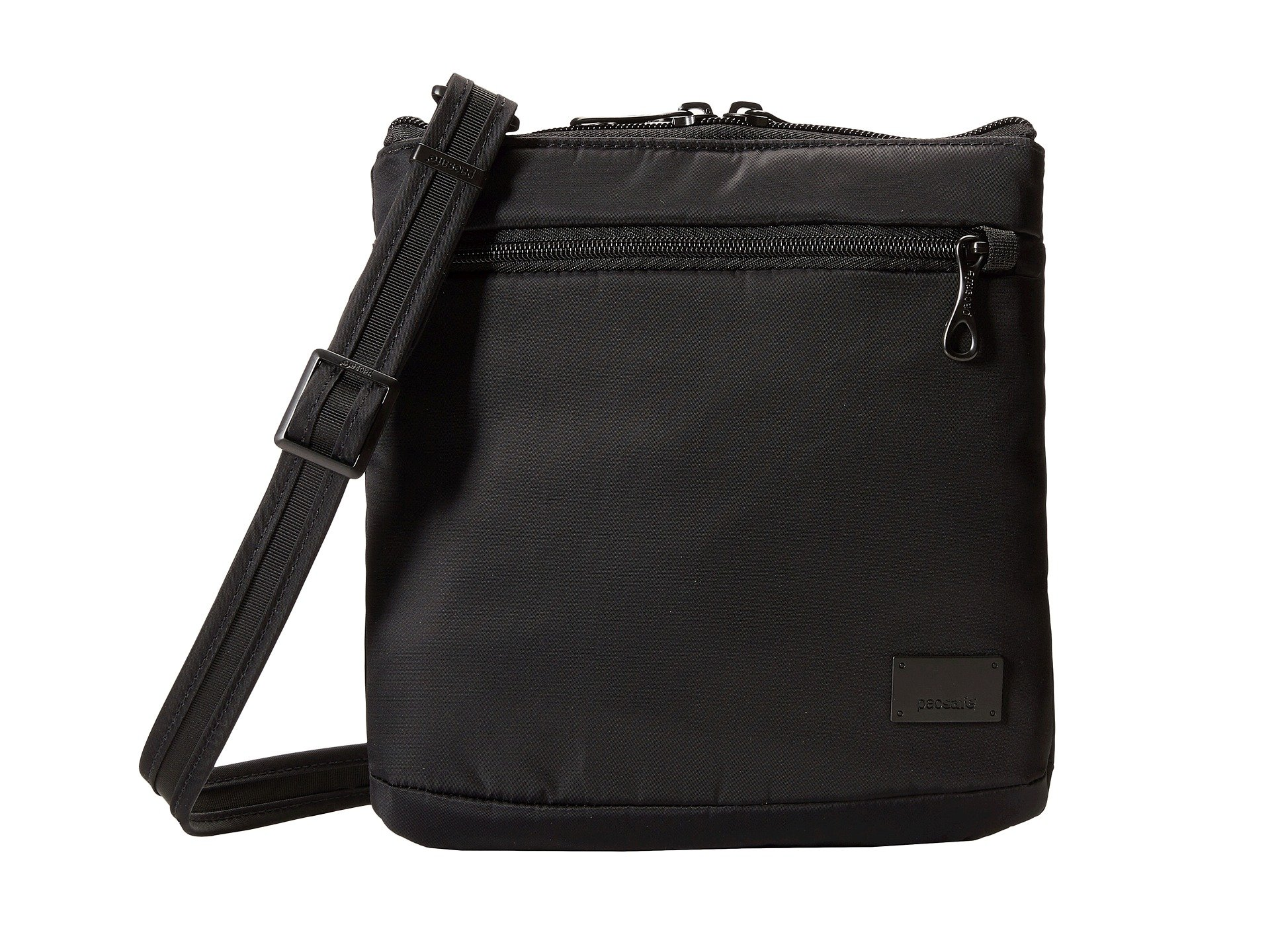Citysafe Purse Crossbody Cs50 theft Black Pacsafe Anti zq0qP