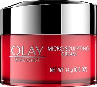 Olay Regenerist Micro-Sculpting Cream Face Moisturizer, Trial Size 0.5 oz
