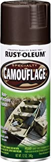 12 Oz Earth Brown Camouflage Spray Paint [Set of 6]