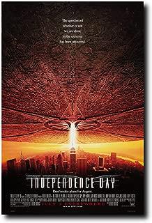 Independence Day Movie Poster 24x36 Inch Wall Art Portrait Print - Will Smith - Jeff Goldblum