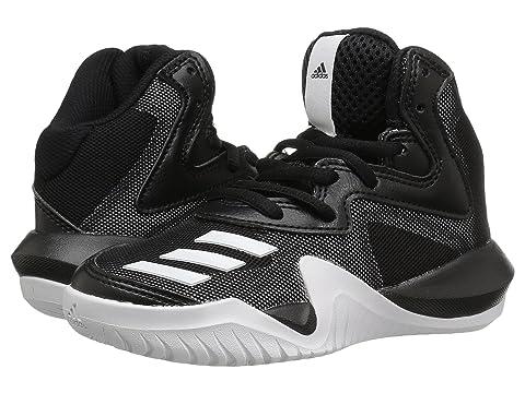 Adidas bambini pazzi squadra basket (piccolo / grande) alle 18
