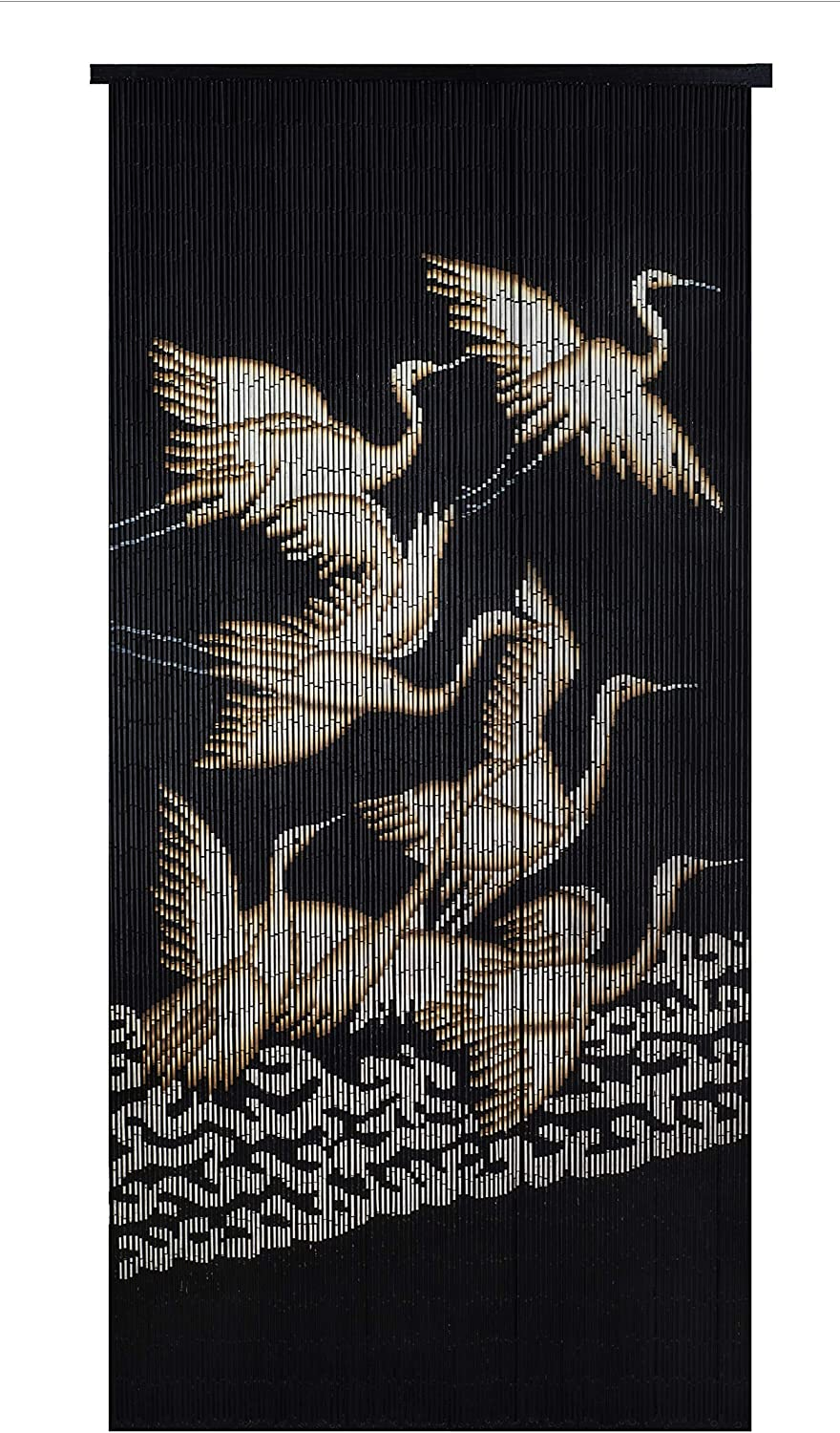 Hand Beaded Curtain-Cranes Bamboo 2021 spring and summer new Very popular!