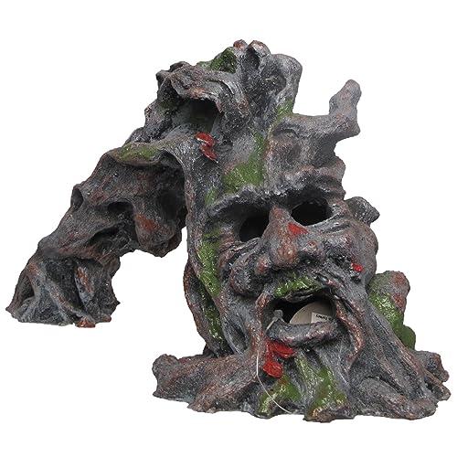 Nicepets – Adorno para decoración de acuario, pecera y terrario de resina con forma de