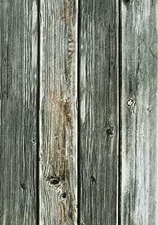 """Rustic Wood Wallpaper Vintage Wood Paper17.7""""×78.7"""" Wallpaper Peel and Stick Wallpaper Self Adhesive Wallpaper Removable Wood Textured Wallpaper Peel n Stick Wallpaper"""