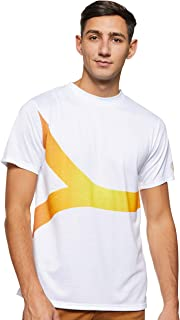 Expo 2020 Dubai Men's T-Shirt Made from Recycled Plastic Bottles - Yellow Supergraphic