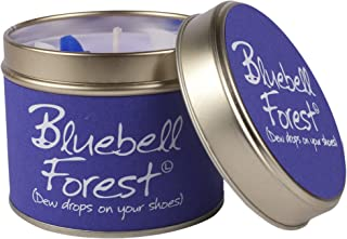 Lily- Flame Scented Candle in a Tin Bluebell Forest (Pack of 6) - スズブルーベルの森でLily-炎香りのキャンドル (Lily-Flame) (x6) [並行輸入品]