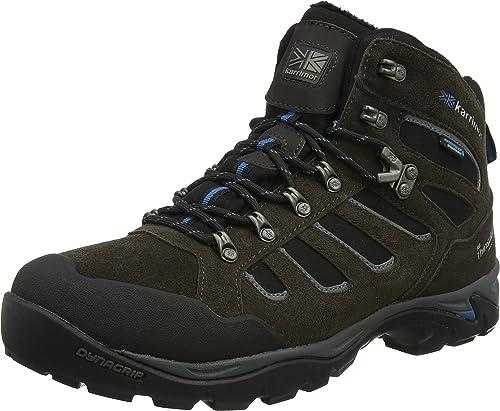 Karrimor Bodmin Winter Weathertite negro UK 10, botas de Senderismo para Hombre, negro, 44 EU