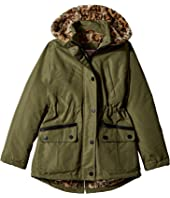 Urban Republic Kids - Ballistic Anorak with Faux Fur Lining (Little Kids/Big Kids)