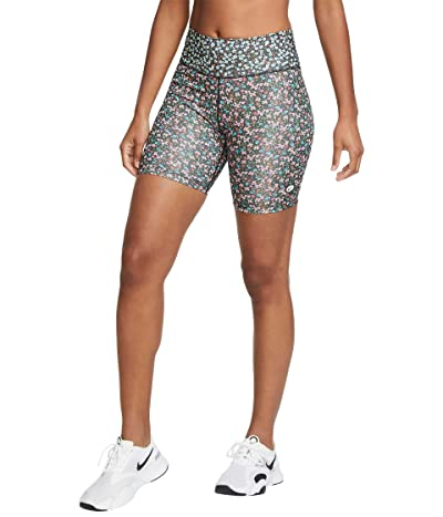 Nike One Femme Shorts (Firewood Orange/Glacier Ice/Black) Women