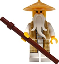 LEGO Ninjago: Minifigure Sensei Wu (Tan and Gold Outfit, from Set 70751)