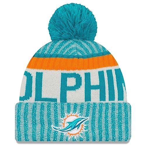 c64aa0f5 Miami Dolphins Beanie Hat: Amazon.com