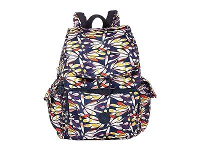Kipling Citypack Backpack (Retro Floral) Backpack Bags