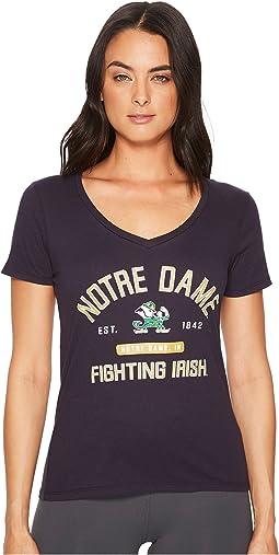 Notre Dame Fighting Irish University V-Neck Tee