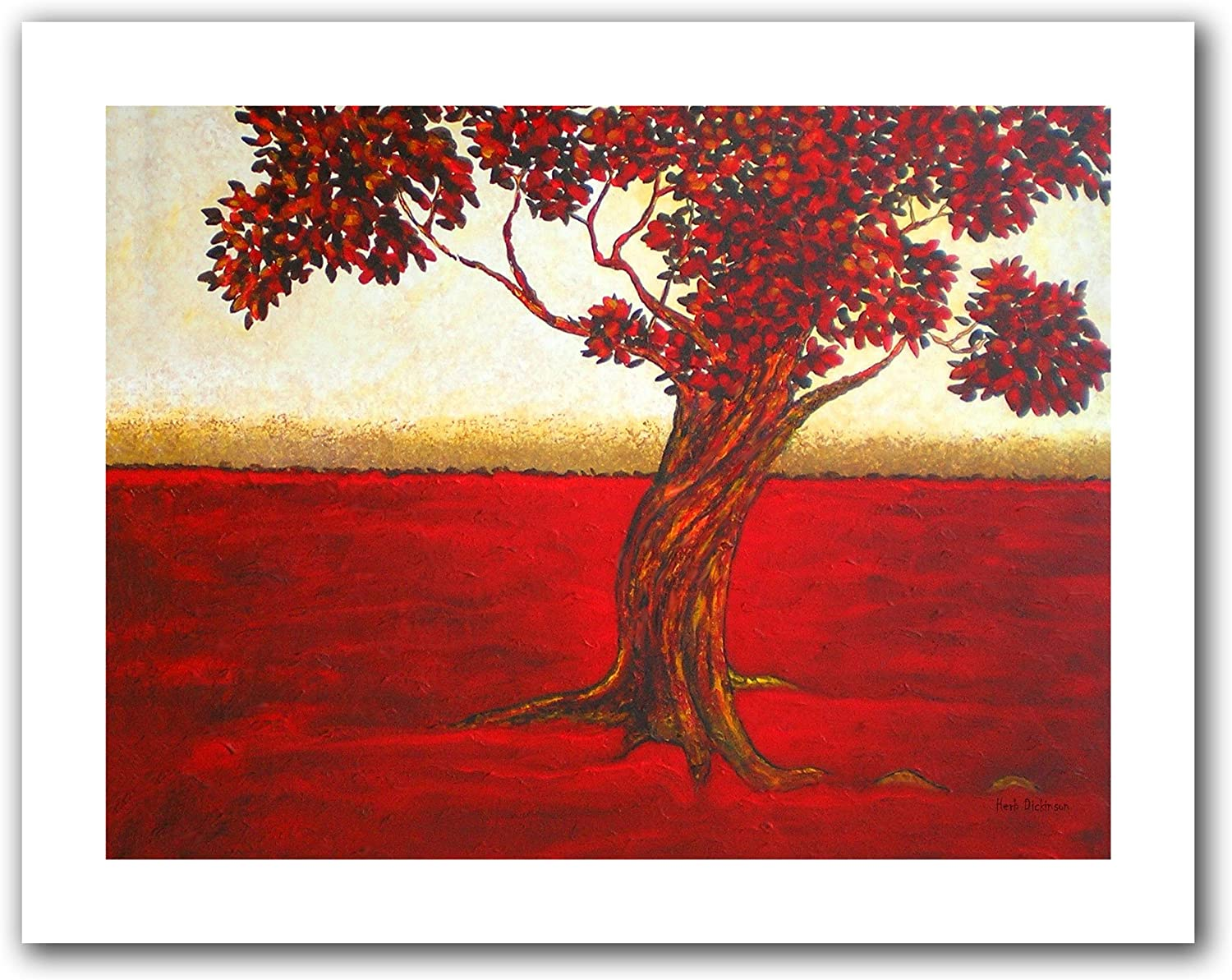Art Wall Ethereal Tree II by Herb Dickinson Unwrapped Canvas Artwork, 18 by 22-Inch