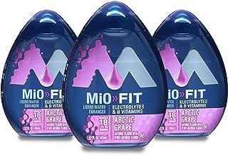MiO Energy Liquid Water Enhancer,1.62 Fluid Ounce (Arctic Grape, PACK - 3)