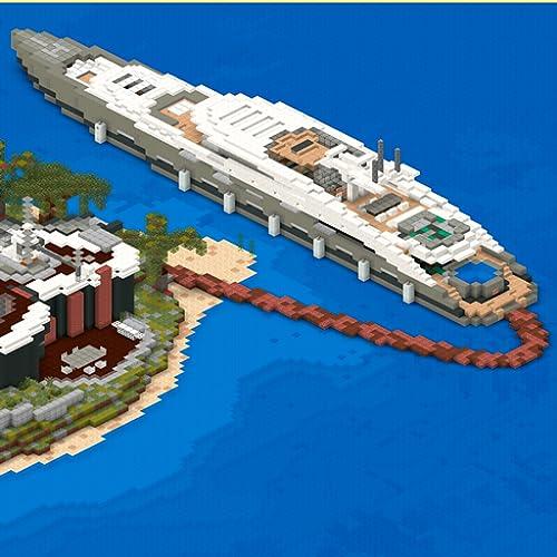Ship Craft: Coole Big Yachts Karten für Minecraft