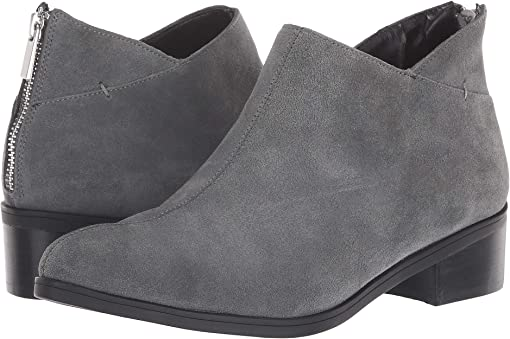 Grey Suede Leather