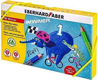 Eberhard Faber 518424 TRI Winner, 24 sztuki w pudełku z tworzywa sztucznego
