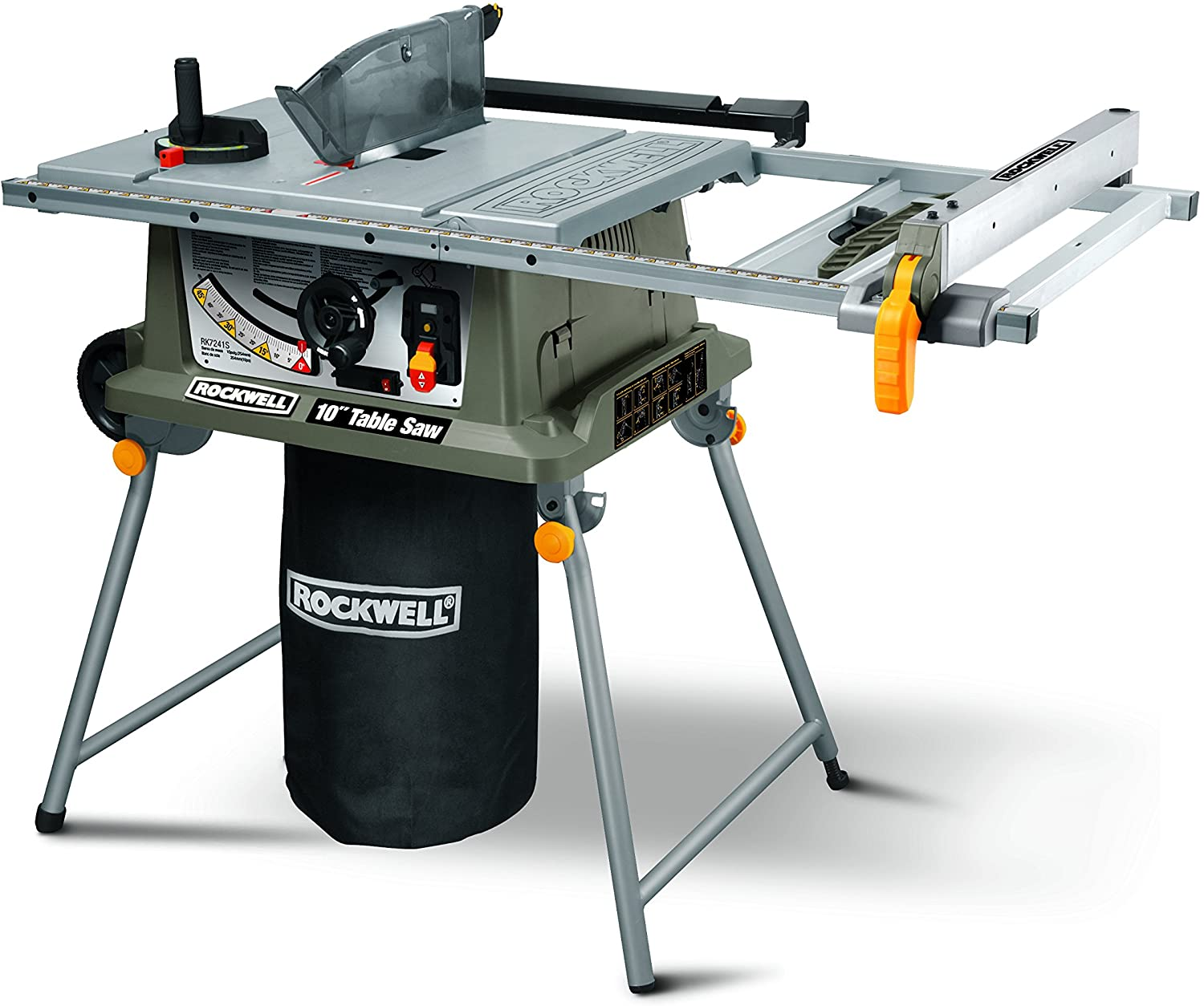 Rockwell RK7241S Hybrid Table Saw Under $1000