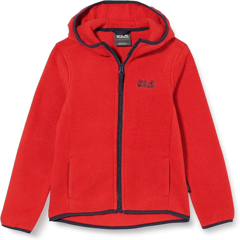 Jack Wolfskin Unisex-Youth Sale Baksmalla Hooded Kids Jacket Industry No. 1