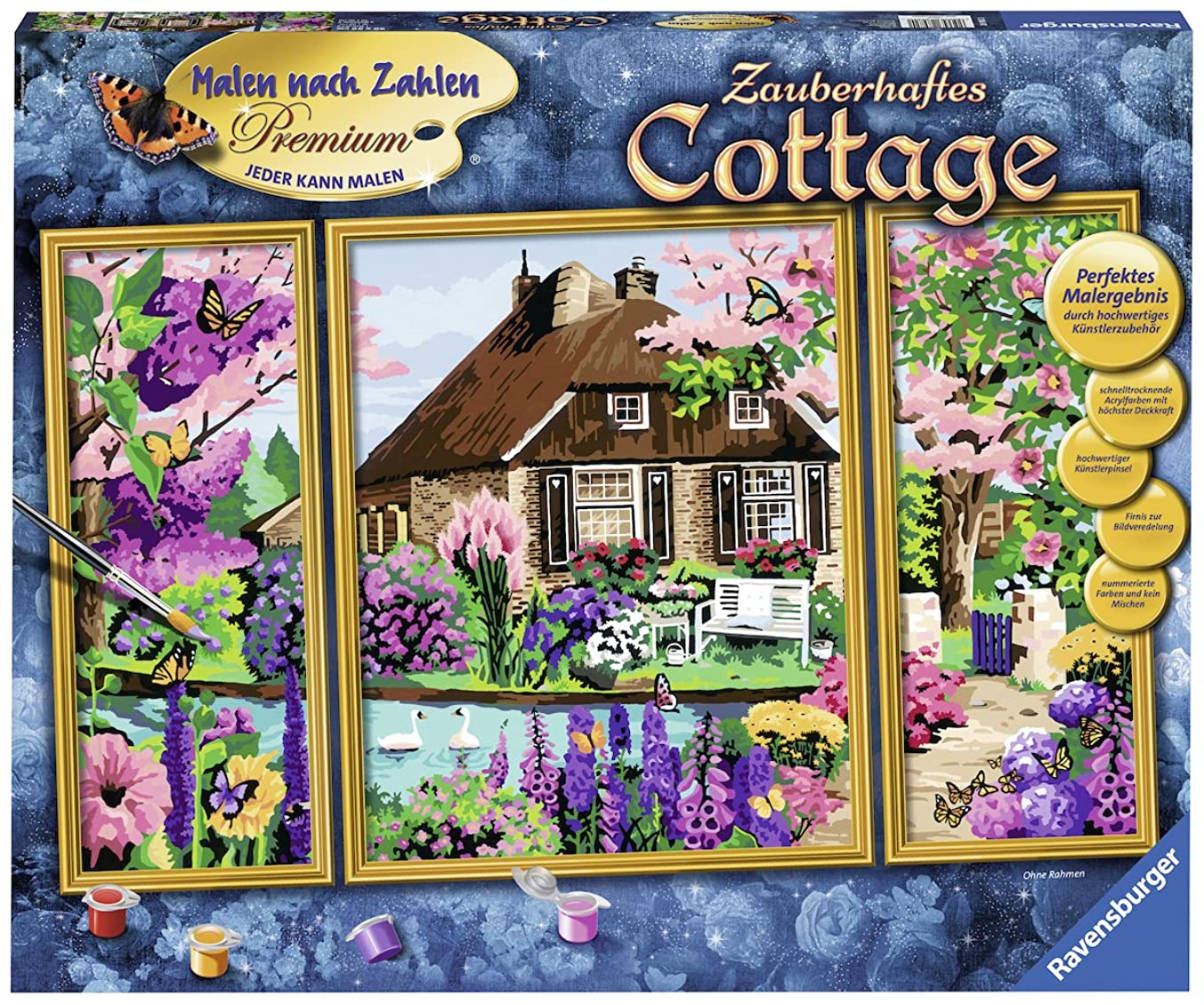 Ravensburger Painting by Numbers 28982?Enchanting Cottage
