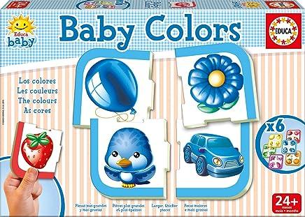 Educa 15861 Baby Colors The Colours 6 Piece Puzzle