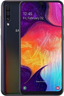 Samsung Galaxy A50 (A505F/DS) Dual SIM 128GB GSM Unlocked, International Version - Black