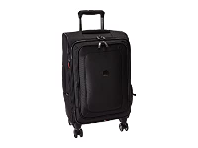 Delsey Cruise Lite Softside Expandable Spinner Carry-On (Black) Luggage