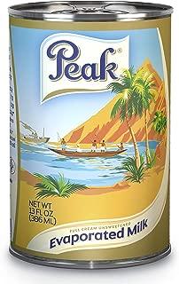 Peak Evaporated Full Cream Milk, 13 Fl. Oz. (Pack Of 4)