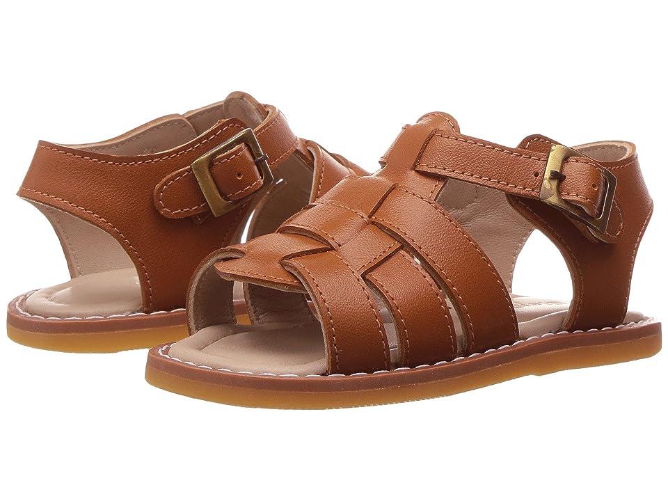 Elephantito Fisherman Sandal (Infant/Toddler) (Caramel) Boys Shoes
