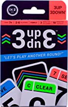 3UP 3DOWN Card Game • Best Fun Family Games for Kids, Teens, Adults • 2-6 Players/Deck • Up to 12 Players with 2 Decks • M...