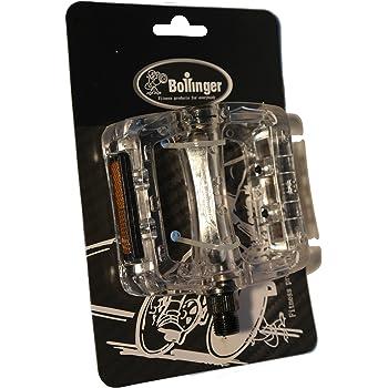 Bollinger RSDP1 Pedales para Bicicleta, Transparente, Talla Única: Amazon.es: Deportes y aire libre