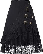 Belle Poque Damen Vintage Retro Gothic Steampunk Hippie Spitze Rock BP205