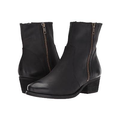 Walking Cradles Giselle (Black Distressed Leather) Women