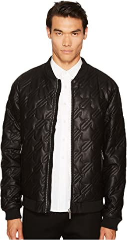 Versace Jeans - Quilted Houndstooth Jacket
