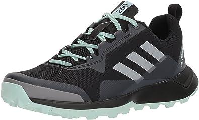 Adidas Outdoor Women's Terrex CMTK W Walking Shoe, Black/Chalk White/ash Green, 7.5 M US