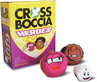 Crossboccia Unisex's Heroes 2 x 3 Foar 2 Spilers Blond and Muffin Set, Multi-Colour, Small