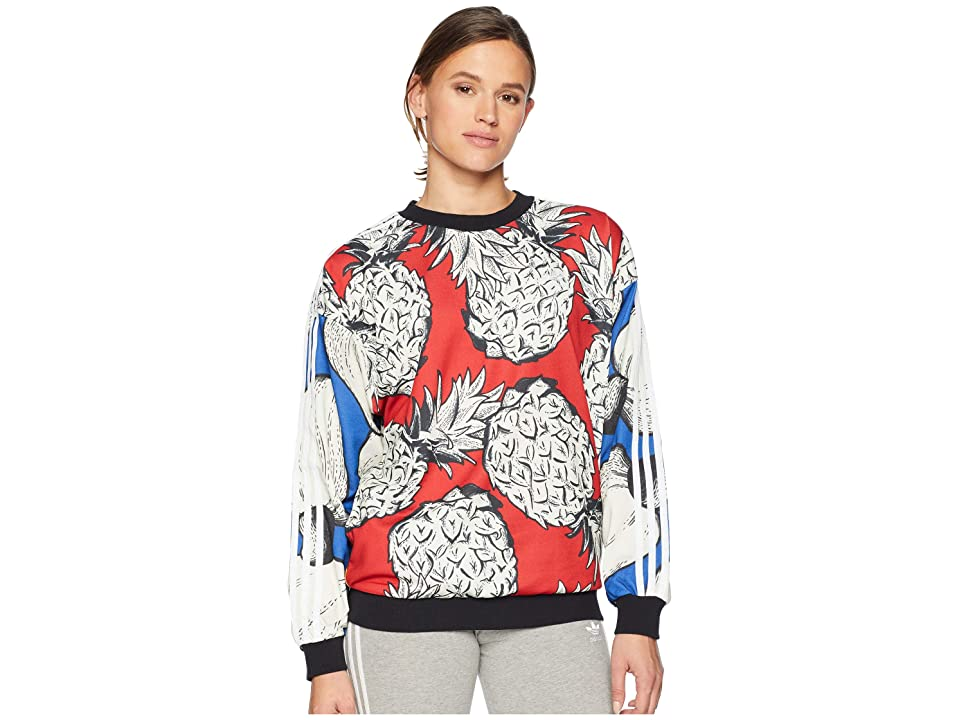 adidas Originals Farm Boyfriend Sweater (Multicolor) Women