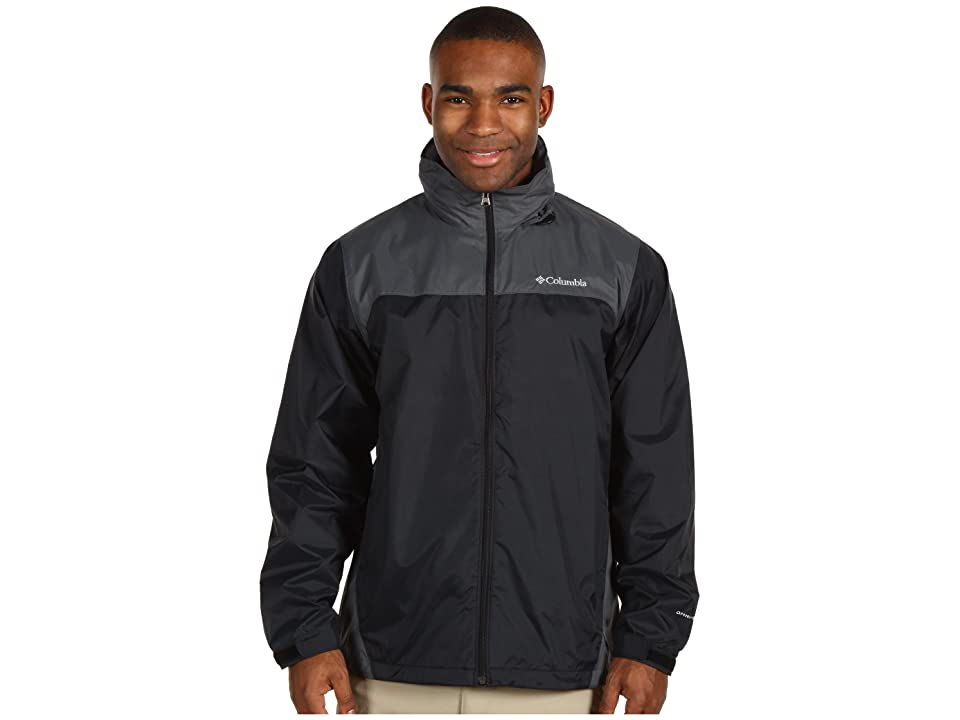 Columbia Glennaker Laketm Rain Jacket (Black/Grill 2) Men