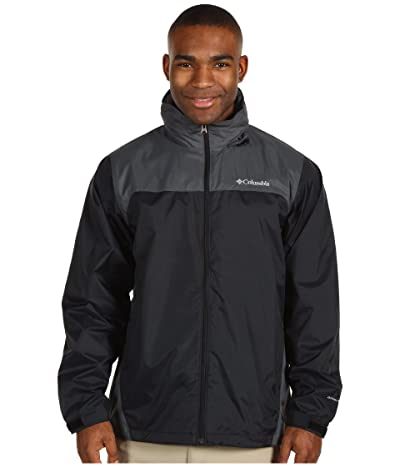 Columbia Glennaker Lake Rain Jacket (Black/Grill 2) Men