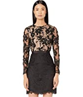 ML Monique Lhuillier - Floral Calypso Lace Dress