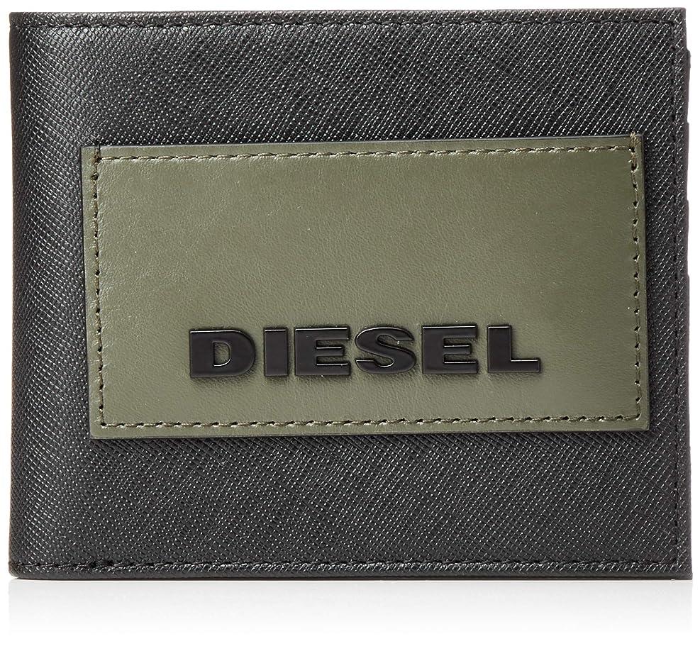 研磨蓄積するメーター(ディーゼル) DIESEL メンズ ブランディングパッチ レザー 折り財布 X06309P0517