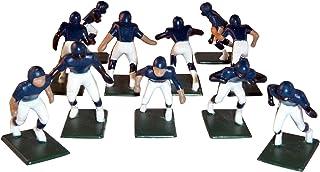Electric Football 11 Regular Size Men in Blue Jersey White Home Uniform