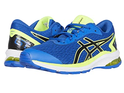 ASICS Kids GT-1000 9 (Little Kid/Big Kid) (Tuna Blue/Black) Boys Shoes