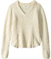 Double Zip Sweater (Big Kids)