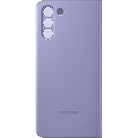 Samsung Clear View Cover Ef Zg991 Für Galaxy S21 5g Violet Elektronik
