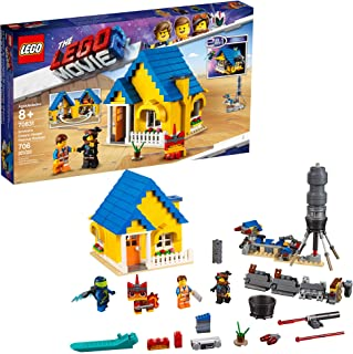 LEGO The Movie 2 Emmet's Dream House/Rescue Rocket! 70831 Building Kit, Pretend Play Toy House for Kids Age 8+ (706 Piece...