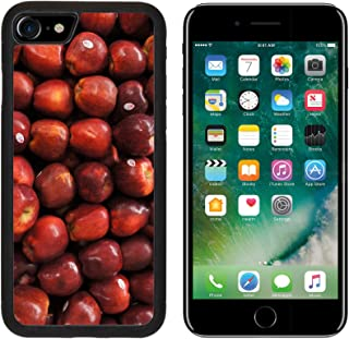 MSD Premium Apple iPhone 7 iPhone7 Aluminum Backplate Bumper Snap Case Snake Fruit Apel Apple Fruit Red Image 802986