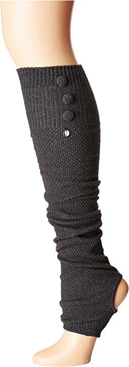Rae Leg Warmer Button Up-Open Heel