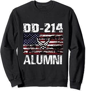 DD-214 Alumni US Armed Forces Vintage Sweatshirt